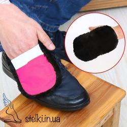 Тканевая губка для полировки обуви