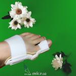 Ночной бандаж при вальгусной деформации стоп (росте косточки на большом пальце)