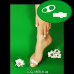Гелевые кольца для пальцев с перегородкой