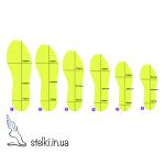 Детские стельки тонкие, в повседневную обувь, 16.6-20.7 см
