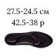 27.5-24.5см (42.5-38р), черный цвет