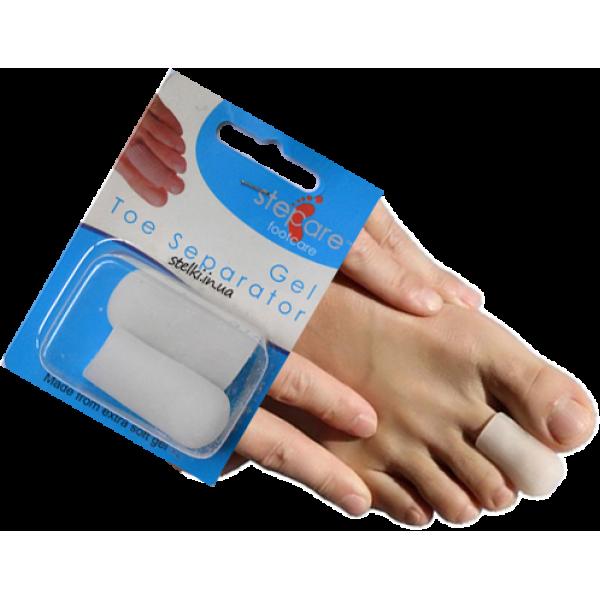 Силиконовые колпачки  на пальцы стоп