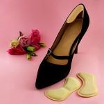 Спонжевые вкладыши в обувь от натирания пяток