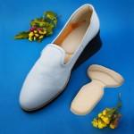 Спонжевые вкладыши в обувь 2 в 1 (под пятки и на задник обуви)