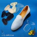 Силиконовые накладки в обувь 2 в 1 (под пятки и на задник обуви)