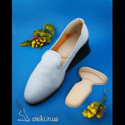 Уцененные вкладыши в обувь 2 в 1 (под пятки и на задник обуви)