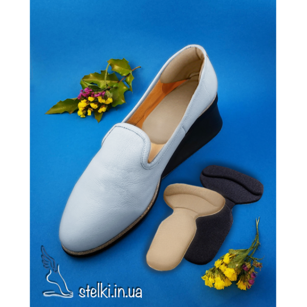 Вкладыши в обувь 2 в 1 (под пятки и на задник обуви)