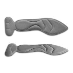 Женские стельки смягчающие из спонжа с накладкой для пяток, универсальный размер