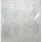 Уцененные силиконовые полустельки под переднюю часть стопы на клеящейся основе