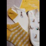 """Набор женских носков Caramella """"Giraffe"""", 3 пары"""