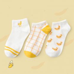 """Набор женских носков Caramella """"Banana"""", 3 пары"""