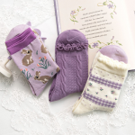 "Набор женских носков Caramella ""Purple"", 6 пар"
