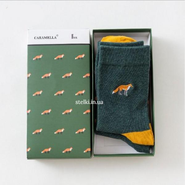 """Набор мужских носков Caramella  """"The fox"""""""