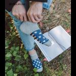 "Набор мужских носков  Caramella  ""Lines and Stars"", 4 пары"