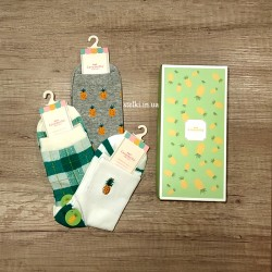 "Набор женских носков ""Pineapple"", 3 пары"