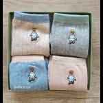 """Набор носков """"Dear teddy bear-1"""", 4 пары."""
