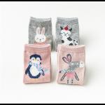 """Набор носков """"Little Lolly pink"""", 4 пары"""