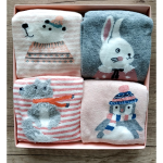 """Набор носков """"The Rabbit"""", 4 пары."""