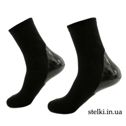 Носки с силиконовой пяткой (унисекс)