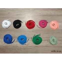 Круглые цветные шнурки для обуви, 160 см
