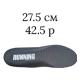 27.5 см/42.5 размер; серый цвет (Running)