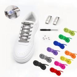 Цветные эластичные шнурки-резинки с магнитом