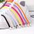 Цветные эластичные шнурки-резинки с фиксатором-зажимом