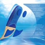 Многофункциональные спортивные стельки Poron Sport
