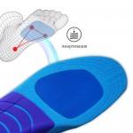 Спортивные стельки для бега и динамичных видов спорта, с поддержкой свода стопы