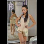 Женская пижама с кружевом, комплект (шорты и майка), модель В-13