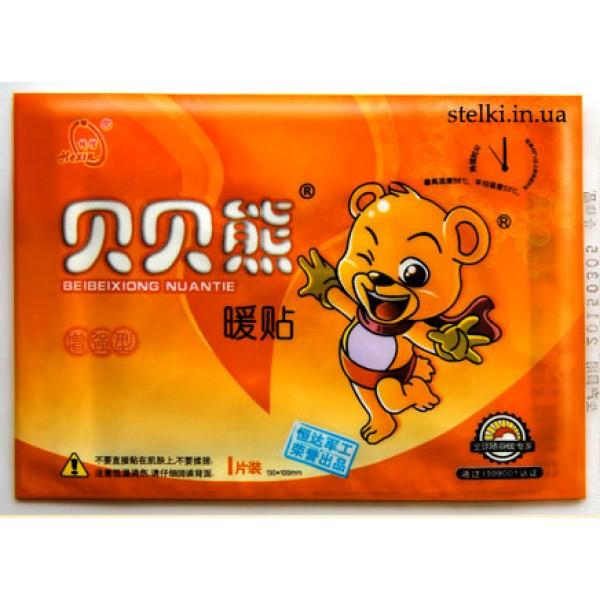 """Химические грелки """"Beibei Bear"""" на 10 часов на клейкой основе"""