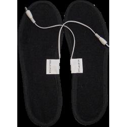 Стельки с подогревом электрические на шнуре USB, подогрев от power bank и розетки.