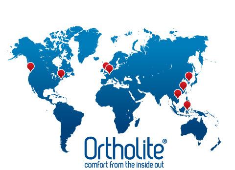 распространение компаний Ортолайт в мире