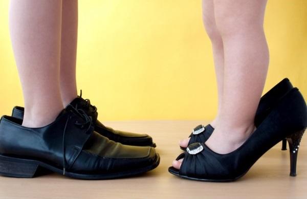 обувь велика что делать