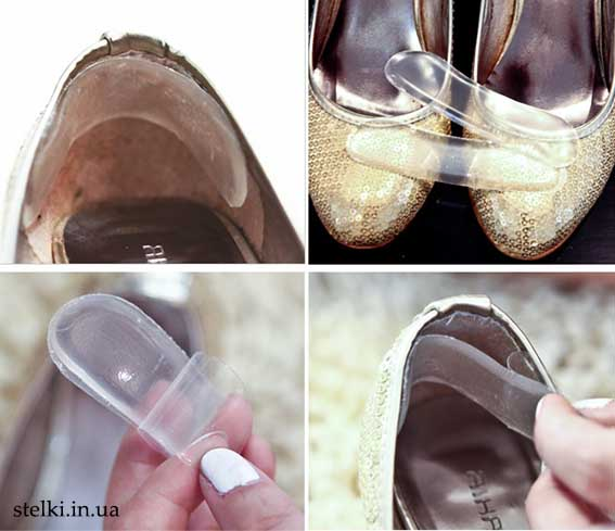 использование силиконовых задников