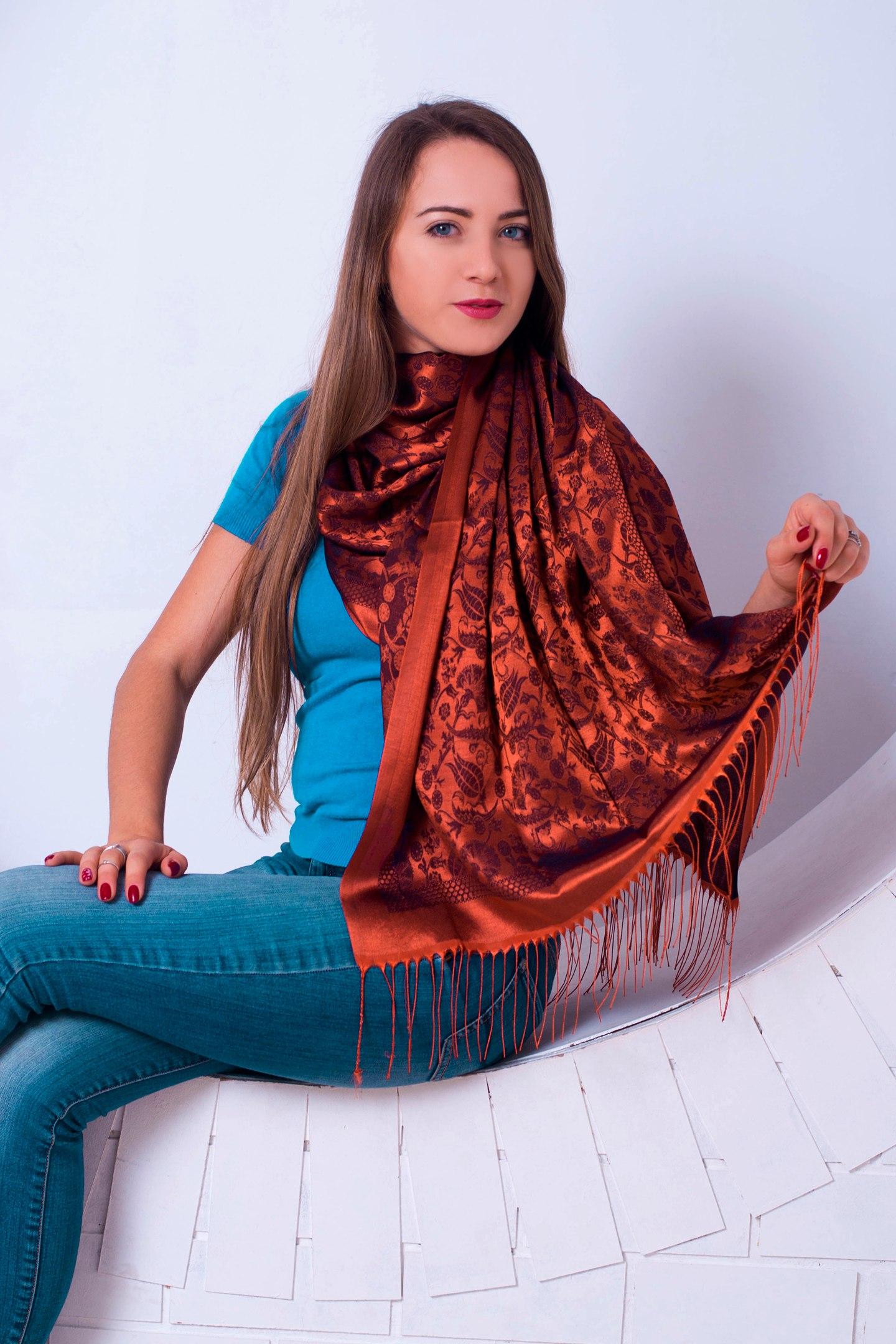Великолепный шарф под любой наряд