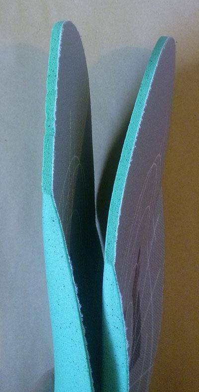 стельки для спортивной обуви из материала Ortholite
